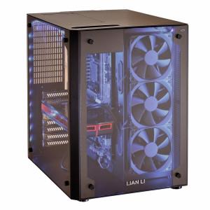 Lian Li PC-08 blau beleuchtet